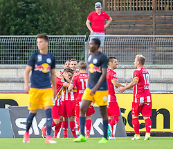 21.07.2017, Franz Fekete Stadion, Kapfenberg, AUT, 2. FBL, KSV 1919 vs FC Liefering , 1. Runde, im Bild das Team von KSV 1919 naach dem Ausgleich // during the Austrian Erste Liga Match, 1th Round, between KSV 1919 and FC Liefering at the Franz Fekete Stadium, Kapfenberg, Austria on 2017/07/21, EXPA Pictures © 2017, PhotoCredit: EXPA/ Dominik Angerer