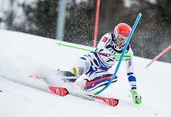 "Petra Vlhova (SVK) competes during 1st Run of FIS Alpine Ski World Cup 2017/18 Ladies' Slalom race named ""Snow Queen Trophy 2018"", on January 3, 2018 in Course Crveni Spust at Sljeme hill, Zagreb, Croatia. Photo by Vid Ponikvar / Sportida"