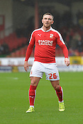 Swindon Town midfielder Anton Rodgers during the Sky Bet League 1 match between Swindon Town and Scunthorpe United at the County Ground, Swindon, England on 14 November 2015. Photo by Mark Davies.