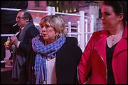 MARIANNE FAITHFUL, Chris Stein / Negative: Me, Blondie, and The Advent of Chris Stein / Negative: Me, Blondie, and The Advent of Punk - private view, Somerset House, the Strand. London. 5 November 2014.
