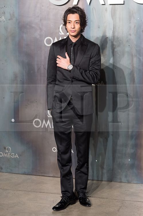 © Licensed to London News Pictures. 26/04/2017. London. SHOHEI MIURA attends the Omega party celebrating 60 Years of the Speedmaster watch. Photo credit: Ray Tang/LNP