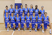 ROMA 13 DICEMBRE 2011<br /> NAZIONALE FEMMINILE UNDER 18 LAZIO BASKET<br /> NELLA FOTO team<br /> FOTO CIAMILLO