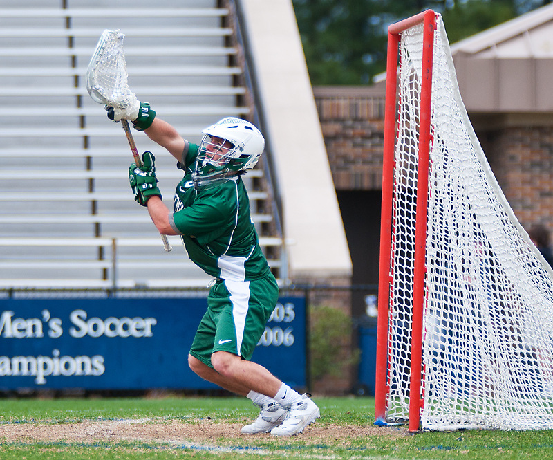 March 20 2011:Dartmouth goalie Ryan Alexander (6) warms up before game with Duke.