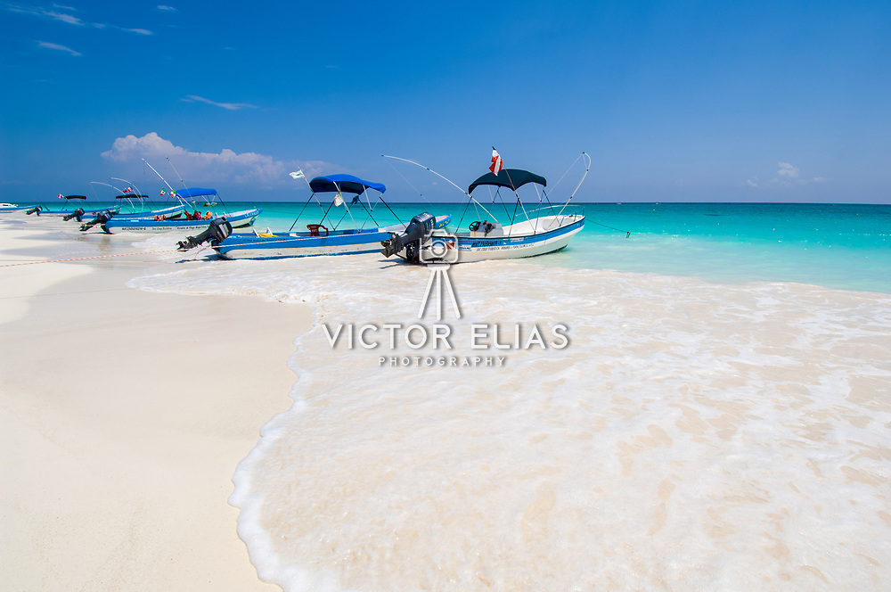 Tulum beach . Quintana Roo. Mexico.