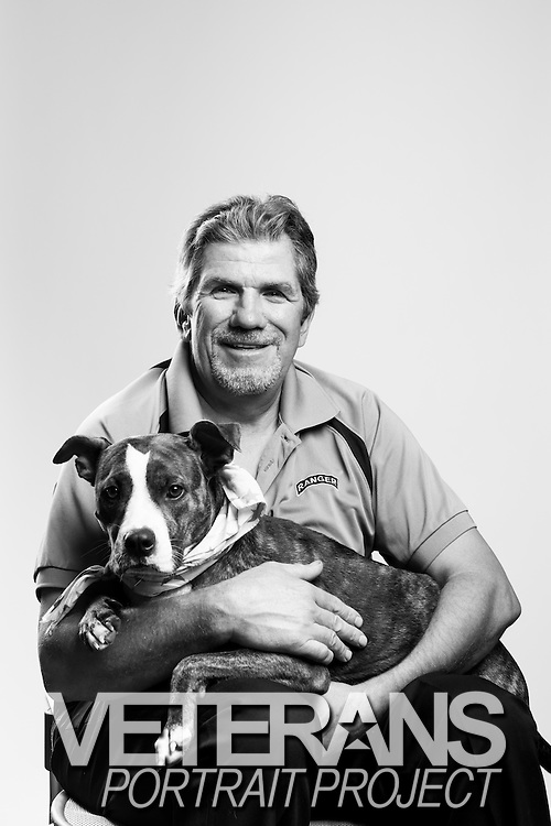 Norbert Goller Miller<br /> Dog: Abigail<br /> Army<br /> E-9<br /> Medical<br /> Nov. 1976 - Nov. 2014<br /> <br /> Veterans Portrait Project<br /> Fayetteville, NC