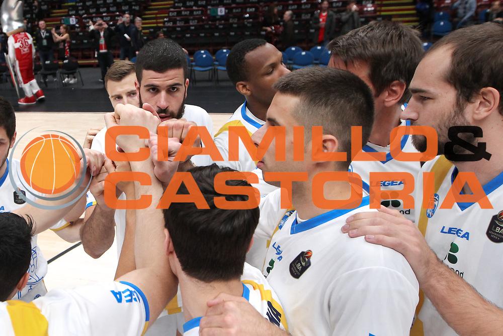 Team Capo D'Orlando, EA7 Emporio Armani Milano vs Capo d'Orlando LBA Serie A Playoff gara 1 stagione 2016/2017 Mediolanum Forum Assago, Milano 12 maggio 2017