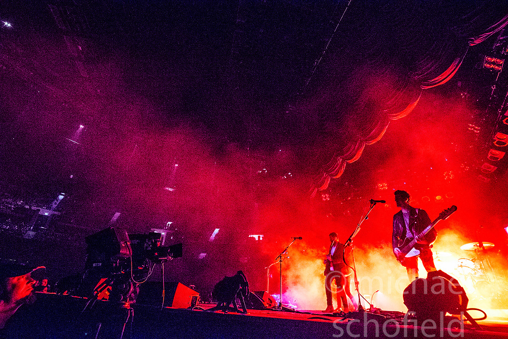 Kings of Leon on stage tonight at the SSE Hydro.