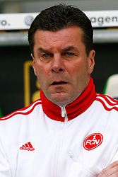 12.03.2010, Volkswagen Arena, Wolfsburg, GER, 1.FBL, VfL Wolfsburg vs 1.FC Nuernberg, im Bild Dieter Hecking (Trainer Nuernberg) .EXPA Pictures © 2011, PhotoCredit: EXPA/ nph/  Schrader       ****** out of GER / SWE / CRO  / BEL ******