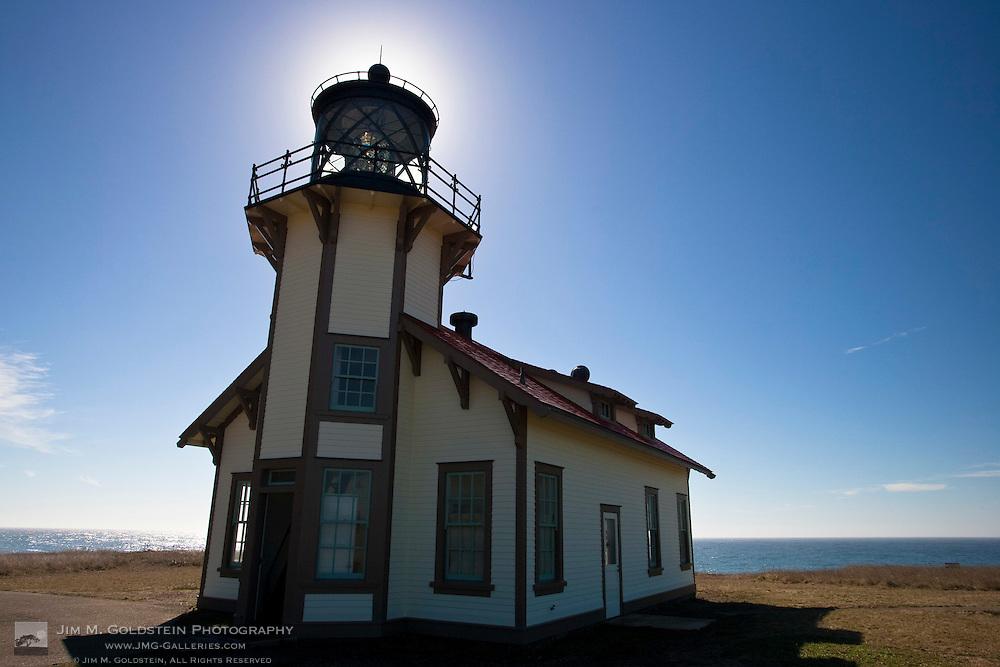 Historic Point Cabrillo Lightstation near Mendocino, California