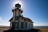 Historic Point Cabrillo Lightstation near Mendocino, California