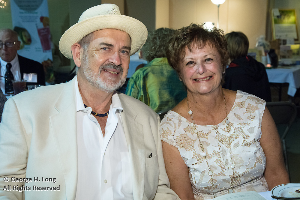 """Dennis and Gail Ledet; The Women's Center for Healing and Transformation """"An Evening of Masquerade"""" fifth annual fundraising gala at the Castine Center in Mandeville, Louisiana on March 31, 2017"""