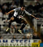 Photo: Jed Wee/Sportsbeat Images.<br /> Newcastle United v Zulte-Waregem. UEFA Cup, 2nd Leg. 22/02/2007.<br /> <br /> Newcastle's Steven Taylor.