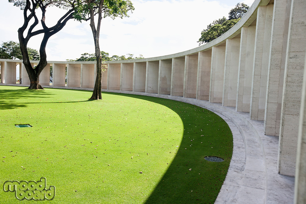 Manila American Cemetery and Memorial; Manila; Philippines