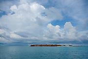 Fort Jefferson with Storm Clouds in Dry Tortugas National Park