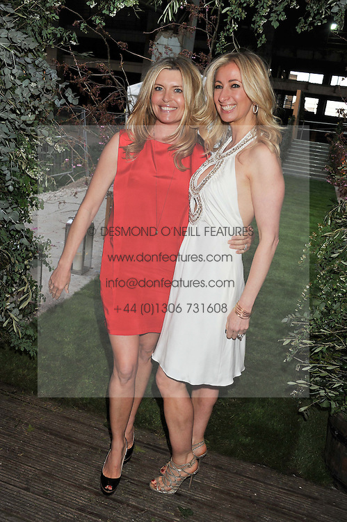Left to right, TINA HOBLEY and JENNY HALPERN-PRINCE at Gabrielle's Gala an annual fundraising evening in aid of Gabrielle's Angel Foundation for Cancer Research held at Battersea Power Station, London on 2nd May 2013.