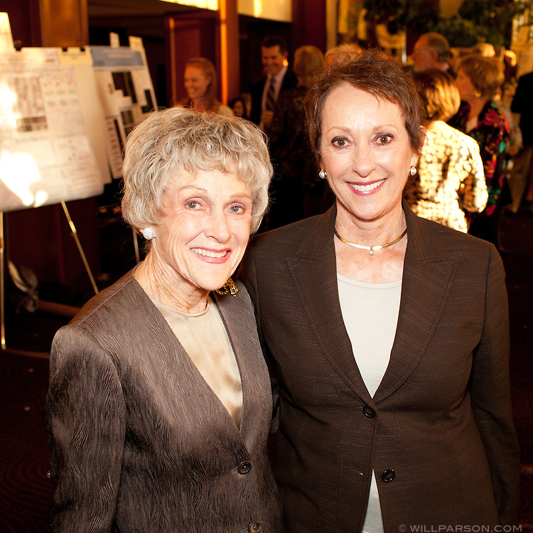 Barbara Brown and Bev Zukor.
