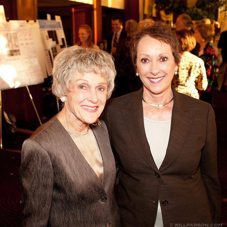 Barbara Brown and Bev Zukor.