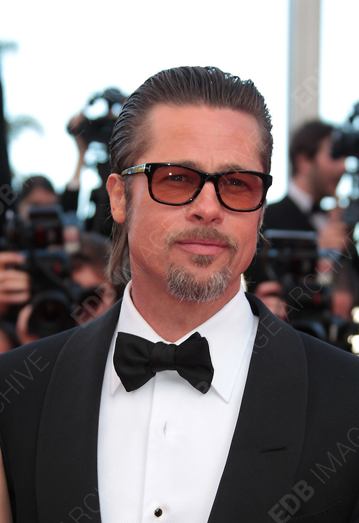 16.MAY.2011. CANNES<br /> <br /> BRAD PITT AT THE PREMIERE OF TREE OF LIFE AT THE 64TH CANNES INTERNATIONAL FILM FESTIVAL 2011 IN CANNES, FRANCE<br /> <br /> BYLINE: EDBIMAGEARCHIVE.COM<br /> <br /> *THIS IMAGE IS STRICTLY FOR UK NEWSPAPERS AND MAGAZINES ONLY*<br /> *FOR WORLD WIDE SALES AND WEB USE PLEASE CONTACT EDBIMAGEARCHIVE - 0208 954 5968*