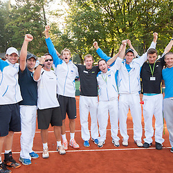 20130914: SLO, Tennis - Davis Cup, Slovenia vs South Africa