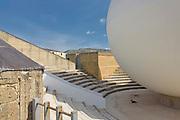 Gibellina:dettaglio della chiesa madre progettata da Ludovico Quaroni.<br /> Gibellina:detail of  the Holy Mother Church by Ludovico Quaroni