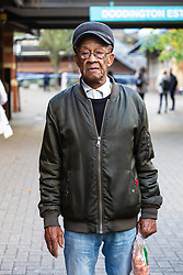 Father of the victim, Cecil Tomlin, 84, following the murder on October 17th of Ian Tomlin, 46, at the Doddington Estate in Battersea, South London . Battersea, London, October 18 2018.