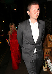 Laura Whitmore and Professor Green at the Glamour Women Of The Year Awards 2016 after party at Groucho Club in London, UK. 07/06/2016<br />