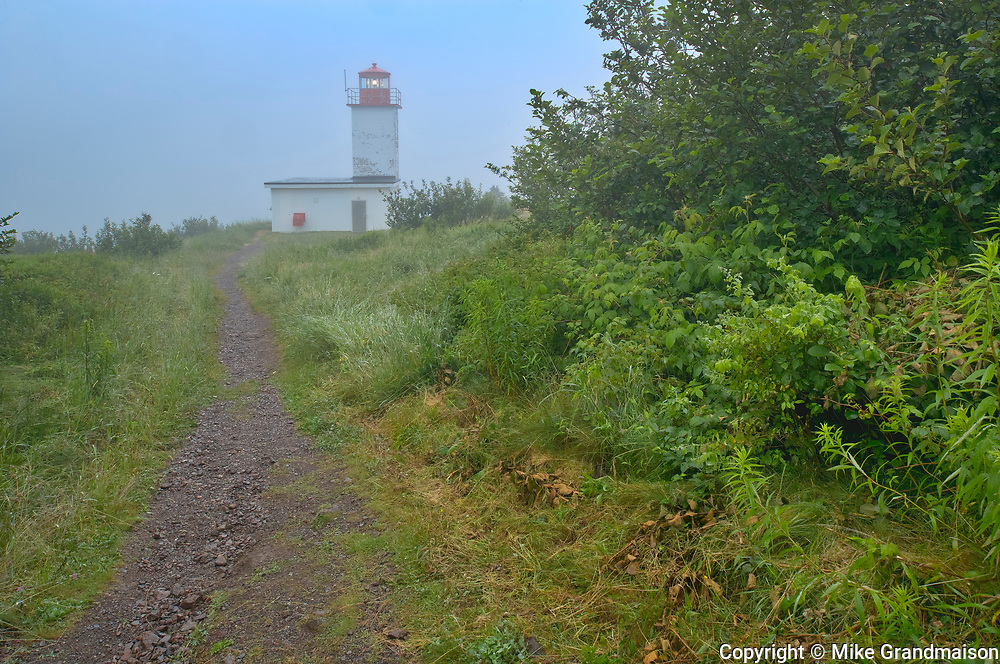Quaco Head Lighthouse. Bay of Fundy<br />