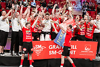 2019-04-27 |Stockholm | During the Final Game in SSL Floorball between Storvreta IBK and IBF Falun at Globen Arena. (Photo by: Daniel Carlstedt | Swe Press Photo).