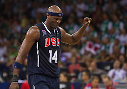 Lamar Odom of USA during to the Preliminary Round - Group B basketball match between National teams of USA and Slovenia at 2010 FIBA World Championships on August 29, 2010 at Abdi Ipekci Arena in Istanbul, Turkey.  (Photo by Vid Ponikvar / Sportida)