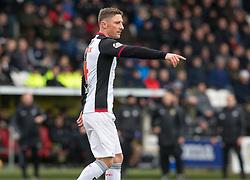 St Mirren Jordan Kirkpatrick  during the Ladbrokes Scottish Premier League match at St Mirren Park, St Mirren.