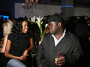 l to r: Latoya Henry and Craig ' Mums' Grant at The 2008 Urbanworld Film Festival and BET Networks Afterparty saluting Fashion & Film at Espace on September 13, 2008