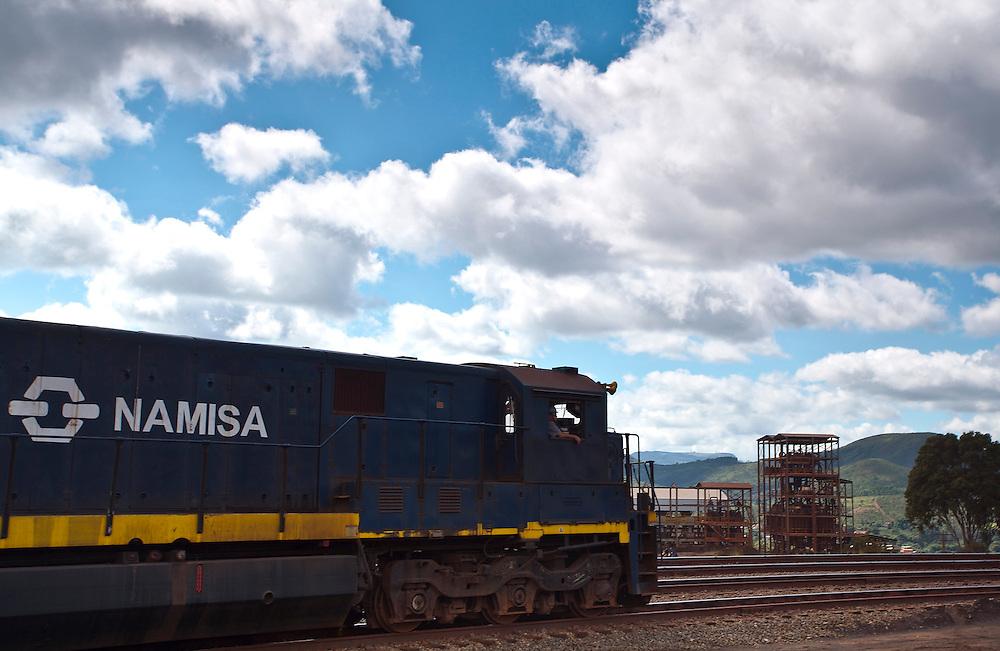 Congonhas_MG, Brasil.<br /> <br /> Mina Casa de Pedra da empresa CSN (Companhia Siderurgica Nacional) em Congonhas, Minas Gerais.<br /> <br /> Casa de Pedra mine of CSN (National Steel Company) in Congonhas, Minas Gerais.<br /> <br /> Foto: JOAO MARCOS ROSA / NITRO