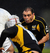 Wycombe, GREAT BRITAIN, Wasps' Raphael IBANEZ, during the Guinness Premiership game, London Wasps vs Sale Sharks 15.04.2008 [Mandatory Credit Peter Spurrier/Intersport Images]