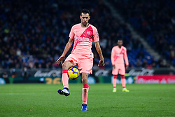 December 8, 2018 - Barcelona, BARCELONA, Spain - 09 Luis Suarez of FC Barcelona celebrating his goal with his team during the Spanish championship La Liga football match between RCD Espanyol v FC Barcelona on December 08, 2018 at RCD Stadium stadium in Barcelona, Spain. (Credit Image: © AFP7 via ZUMA Wire)