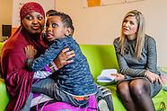 Koningin Maxima vertrekt na een werkbezoek aan Stichting De Tussenvoorziening en Armoedecoalitie.