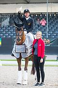 Severo Jurado Lopez - d'Avie<br /> FEI World Championships Young Dressage Horses 2019<br /> © DigiShots