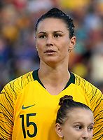 International Women's Friendly Matchs 2019 / <br /> Cup of Nations Tournament 2019 - <br /> Australia v New Zealand 2-0 ( Leichhardt Oval Stadium - Sidney,Australia ) - <br /> Emily Gielnik of Australia