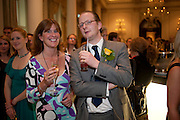NICK BARRINGTON-WELLS; Dervla Kirwan, Langham Hotel party after a major renovation. Portland Place, London. 10 June 2009