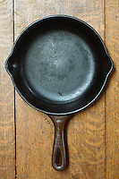 Cast iron pan.