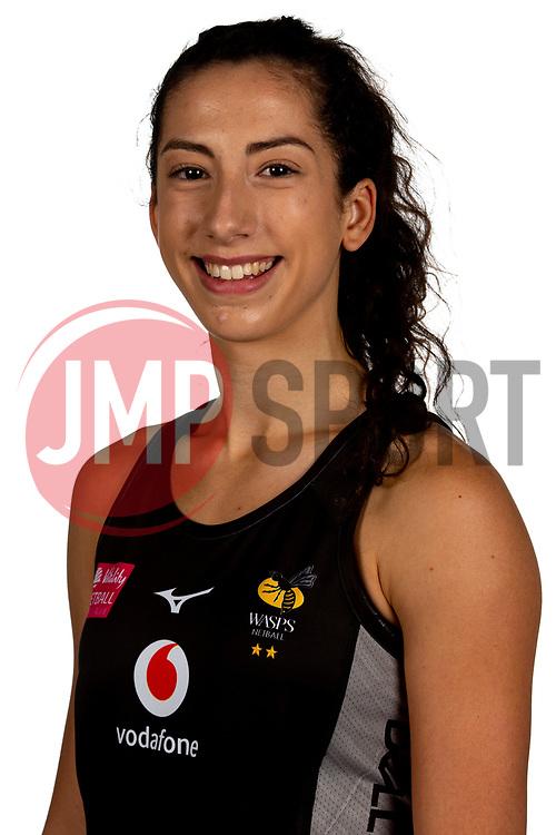 Hannah Leighton of Wasps Netball - Mandatory by-line: Robbie Stephenson/JMP - 02/11/2019 - NETBALL - Ricoh Arena - Coventry, England - Wasps Netball Headshots