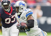 HOUSTON, TX - OCTOBER 30: Detroit Lions running back Theo Riddick (25) carries the ball during the NFL football game between the Detroit Lions and Houston Texans on October 30, 2016 at NRG Stadium in Houston, TX. (Photo by Leslie Plaza Johnson/Icon Sportswire)