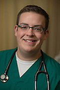 Mason Murray Student Mason Murray, School of Nursing, College of Health Science and Professions. Photo by Ben Siegel