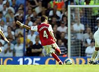Photo: Olly Greenwood.<br />Tottenham Hotspur v Arsenal. The FA Barclays Premiership. 15/09/2007. Arsenal's Francesc Fabregas scores