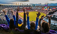 Denver photo shoot April 2017. Students at Rockies Baseball Game<br />