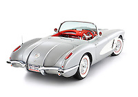 Restored 1958 Corvette Convertible