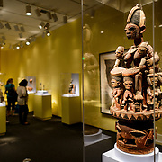 Smithsonian National Museum of African Art Fertility Sculpture. The Smithsonian National Museum of African Art was opened at its current location in 1987 as a mostly underground facility behind the Smithsonian Castle on Washington DC's National Mall. It is dedicated to ancient and contemporary African art.