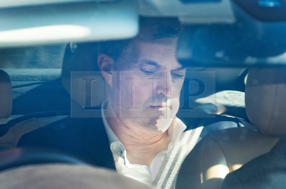 © Licensed to London News Pictures. 24/03/2019. Chequers , UK. Conservative Party Chief Whip Julian Smith arrives at Chequers for a meeting with the Prime Minister. There have been reports of a cabinet revolt against Prime Minister Theresa May, over her handing of the Brexit negotiations. Photo credit: Peter Macdiarmid/LNP