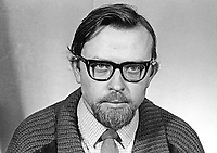 Erskine Holmes, candidate, N Ireland Labour Party, NILP, Ballynafeigh, Belfast, in February 1969 N Ireland General Election for the Stormont Parliament. February 1969. 196902000047a<br /> <br /> Copyright Image from Victor Patterson, 54 Dorchester Park, Belfast, UK, BT9 6RJ<br /> <br /> t1: +44 28 9066 1296 (from Rep of Ireland 048 9066 1296)<br /> t2: +44 28 9002 2446 (from Rep of Ireland 048 9002 2446)<br /> m: +44 7802 353836<br /> <br /> victorpattersonbelfast@gmail.com<br /> victorpatterson@me.com<br /> <br /> www.victorpatterson.com<br /> <br /> Please see my Terms and Conditions of Use at https://www.victorpatterson.com/page2<br /> It is IMPORTANT that you familiarise yourself with them.<br /> <br /> Images used on the Internet incur an additional cost and must be visibly watermarked i.e. © Victor Patterson within the body of the image and copyright metadata must not be deleted. Images used on the Internet have a size restriction of 4kbs and are chargeable at rates available at victorpatterson.com.<br /> <br /> This image is available only for the use of the download recipient i.e. television station, newspaper, magazine, book publisher, etc, and must not be passed on to any third party. It is also downloaded on condition that each and every usage is notified within 7 days to victorpatterson@me.com<br /> <br /> The right of Victor Patterson (or the named photographer) to be identified as the author is asserted in accordance with The Copyright Designs And Patents Act (1988). All moral rights are asserted.
