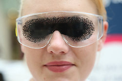 Goggles designed to simulate the effect of Macular Degeneration