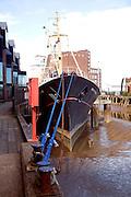 Arctic Corsair historic ship, River Hull, Hull, Yorkshire, England